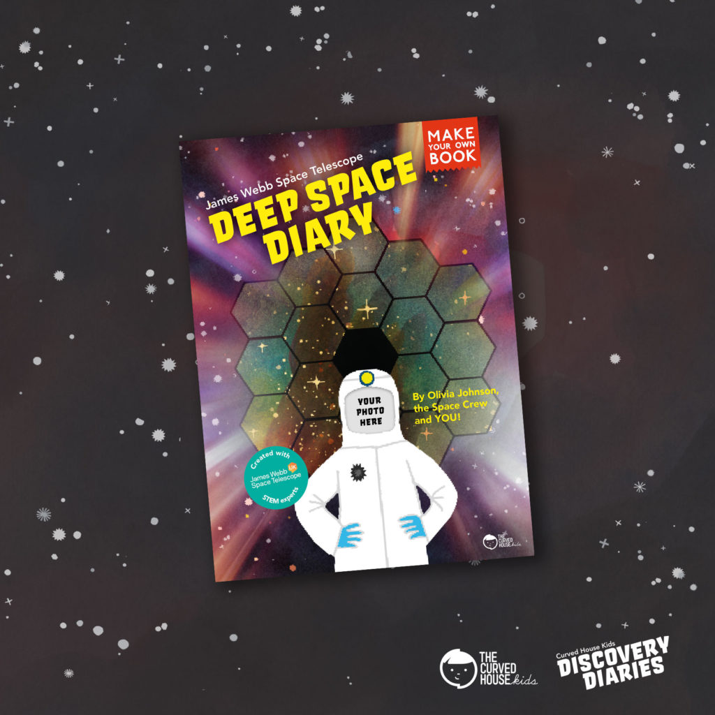 Deep Space Diary Front Cover
